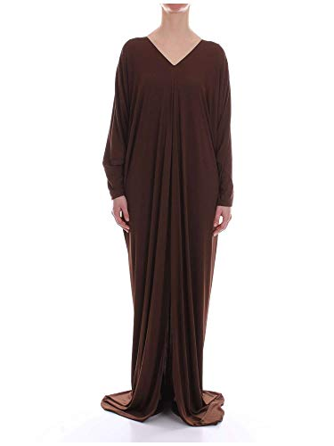 Donna Fibre Ferretti A04420120102 Marrone Vestito Sintetiche Alberta IpSqWEFI