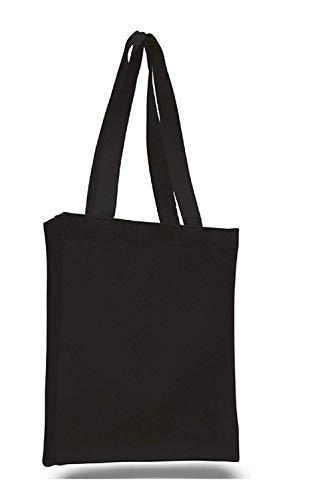 Plain Canvas Book Bag Gusset (10