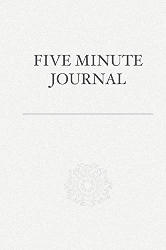 5 Minute Journal: Daily 5 Minute Journal for a Happier you | Simple and Effective 5 Minute Paperback Journal for Mindfulness, Happiness and Productivity (5MJ)