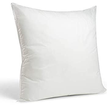Foamily Premium Hypoallergenic European Sleep Pillow Insert Euro Sham Square Form Polyester, 26