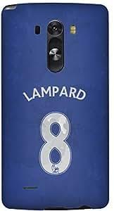 Stylizedd LG G3 Premium Slim Snap case cover Matte Finish - Lampard Jersey