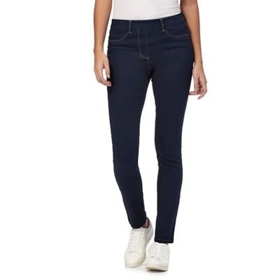 Jeggings Womens Blue Collection The Fit 14R Slim Dark 6q4YASw