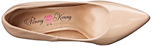 Penny Loves Kenny Women's Opus-Patent Dress Pump, Nude, 6.5 M US by Penny Loves Kenny (Image #8)