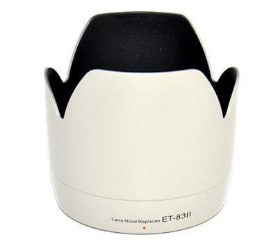 Visera Parasoles Cubierta del Objetivo CELLONIC/® Parasol ET-83 II Compatible con Objetivo Canon EF 70-200mm f//2.8L USM Capilla C/ámara