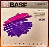 Basf Formatted Diskettes 10 Pack Ms DOS IBM