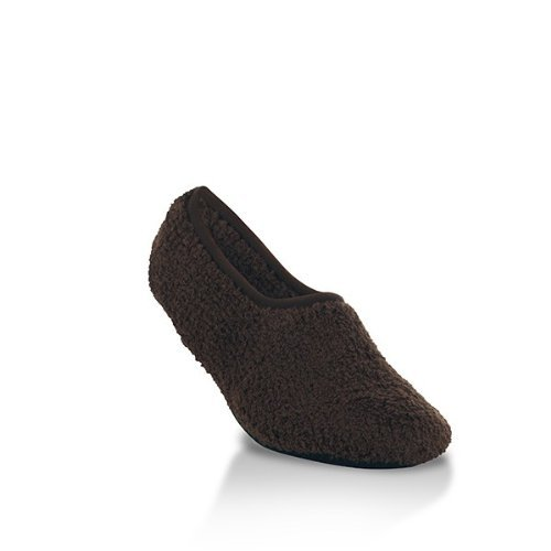 (World's Softest Women's Cozy Slippers, Brownie, Small)