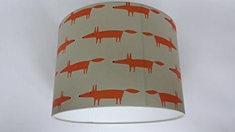 30,48 cm/30 cm Little Fox pantalla para lámpara de techo hechos a ...