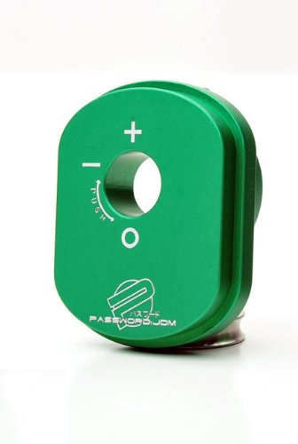 Password JDM Honda Ruckus / Zoomer Billet Aluminum Ignition Cylinder Cover G-Rated - Green