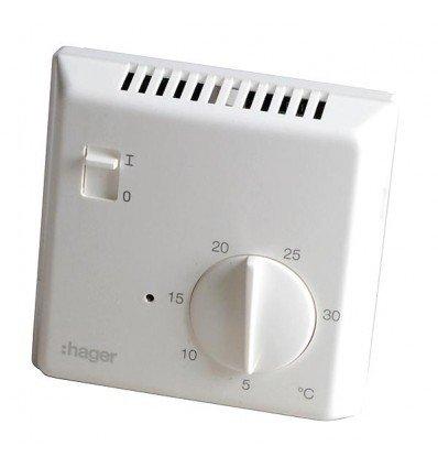 HAGER /électronique 25513 Thermostat simple /électronique Hager Sas HAGER SAS : 25513