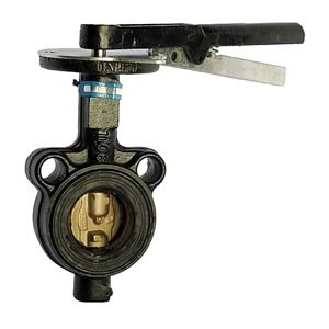 Butterfly Valve, Wafer, Pipe Size 8 In by Milwaukee Valve