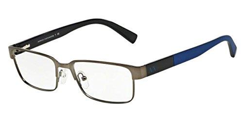 Armani Exchange AX1017 Eyeglass Frames 6084-54 - Matte Gunmetal AX1017-6084-54