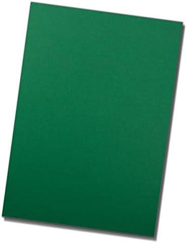 50 Blatt DIN A4 Karton-Bögen - Naturweiß - Ton-Papier mit Edler Rippung, 220 g/m² - Matte Oberfläche - hochwertiges Bastelpapier und Briefpapier