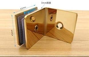 Conector dorado para mampara de ducha, bisagra para puerta de ducha, soporte de 8 10 mm, accesorios de montaje: Amazon.es: Bricolaje y herramientas