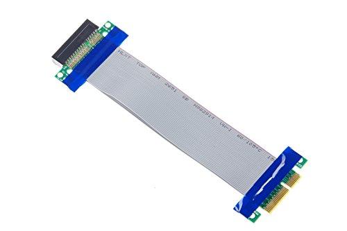 KNACRO PCI-E 4X extension cable PCI-E4X extension card for 1U 2U