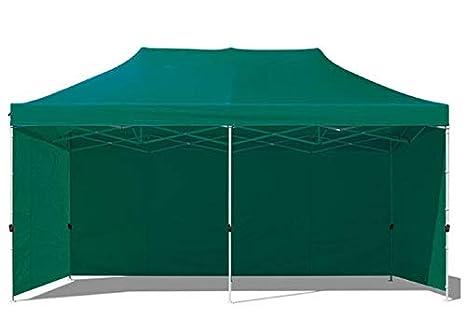 Boudech tenda gazebo per giardino impermeabile verde tendone