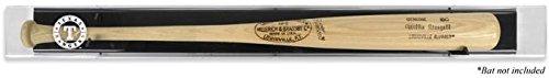 Baseball Logo Deluxe Display Case (Texas Rangers Logo Deluxe Baseball Bat Display Case)
