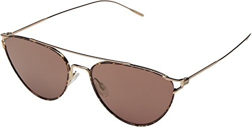 Oliver Peoples Eyewear Women's Floriana Sunglasses, Rose Gold/Burgundy, One - Peoples Oliver Eyewear