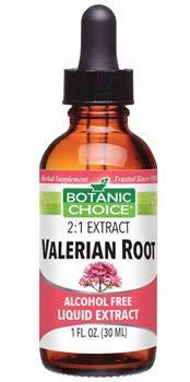 Botanic Choice Liquid Extract, Valerian Root, 1-Fluid Ounce (Pack of 2)