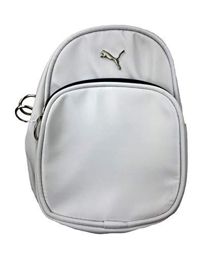 Puma Mini Series Backpack/Shoulder Bag (One Size, White/Black) (Handbag Puma White)