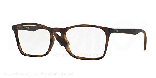 Ray-Ban Eyeglasses RX7045 5365 Rubber Havana 55 18 145