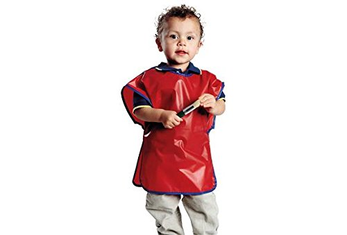 Colorations Machine Washable Toddler Smock - Set of 6 (Item # TODPACK)