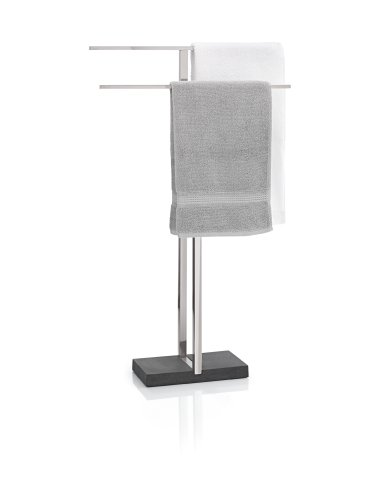 blomus 68624 Towel Rack with Polystone Base by Blomus
