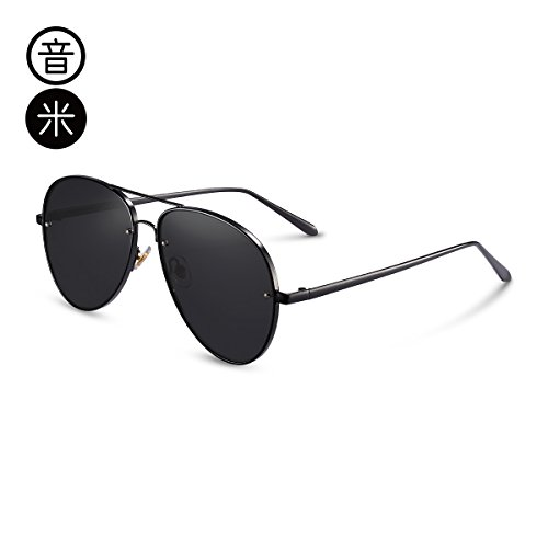 film Regalos Outdoor Gafas Sol Blue De Mirror box Round Cumpleaños Sol Uv Face Sunglasses Gafas De Hombre Uv Decoración Lens Box Blue Wind Men'S gray Black LLZTYJ I8xFUEw