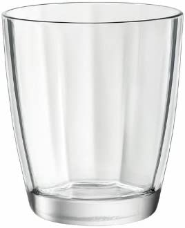 Set of 6 Forest Green Bormioli Rocco Diamond Cooler Glasses 16 oz