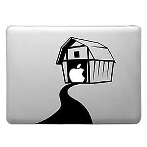 """ZXM- Patrón casa caliente Transparente Funda dura de la PC para el MacBook Pro (colores surtidos) , Verde , 13.3"""""""