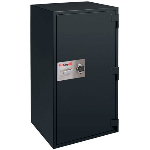 Fireproof BurglaryRated Safe 13.1 Cubic Feet Taupe