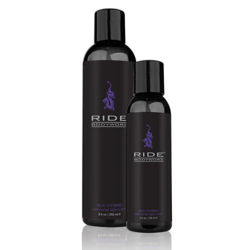 Sliquid Ride Bodyworx Silk Hybrid Lubricant-255ml