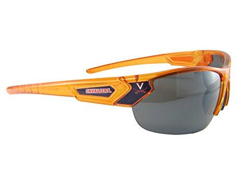 Virginia Cavaliers Transparent Orange Blue White Mens Womens Sunglasses UVA S12OR by Sports Accessory Store