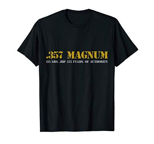 357 magnum ammo range revolver T-Shirt