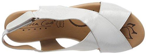0145716 096 Conti Silber Heels Andrea Women's Sandals Silver qUxCP8w