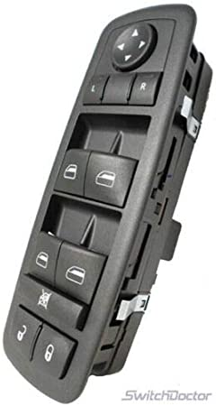 Ridgeyard Fit Lincoln Town Car 03-09 Electric Power Window Driver Master Switch