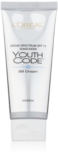 L'Oreal Paris Youth Code BB Cream Illuminator, Medium, 2.5 Fluid Ounce