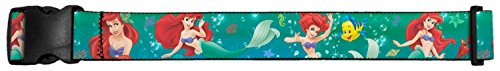 UPC 700146151597, Buckle Down Little Mermaid Ariel Flounder Luggage Strap, Green