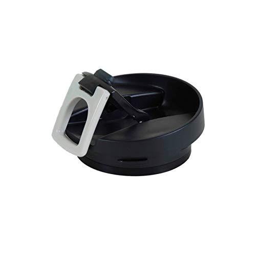 Tapa de repuesto para taza de viaje Contigo Extreme, pestaña negra / cuadrada