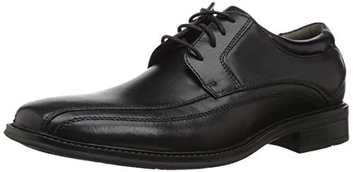Dockers Men's Endow Leather Oxford Dress Shoe,black, 12 W US