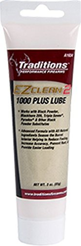 Traditions Performance Firearms Black Powder EZ Clean 2 1000 Plus Lube 3-Ounce Tube