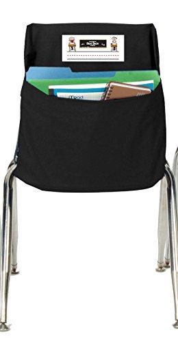 chair pockets. seat sack 30114 storage pocket, standard, grade k - 2, 14\ chair pockets
