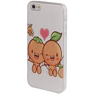 Lover Funda Case Cover Series Fruit Dolls Pattern Plastic Protective Cover Case Funda Para iPhone 5 & 5S
