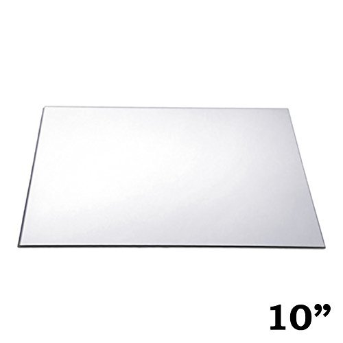 WGVI 12 pcs 10-Inch Square Glass Mirrors for