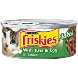 Friskies Flaked Tuna / Egg – 24 Pack, My Pet Supplies