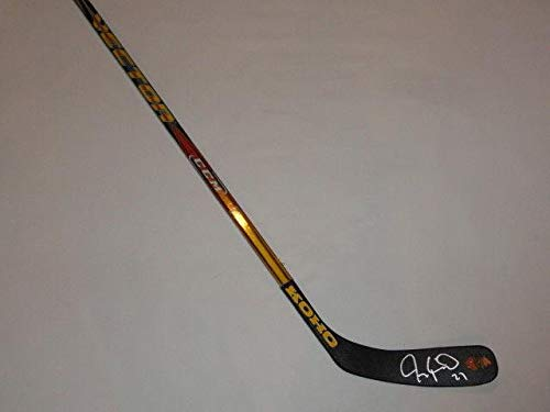 Jeremy Roenick Signed Hockey Stick Chicago Blackhawks Hof Proof Autographed NHL Sticks