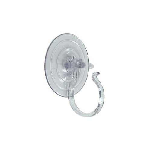 """ABC Products"" - Giant Suction Cup - Wreath Holder, Stain Glass, Towel & Etc. (Rated For 10 Lbs)."