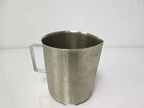 (Polar Ware 3W Stainless Steel Griffin Style Beaker with Handle, 3000 mL Capacity, 6-1/16