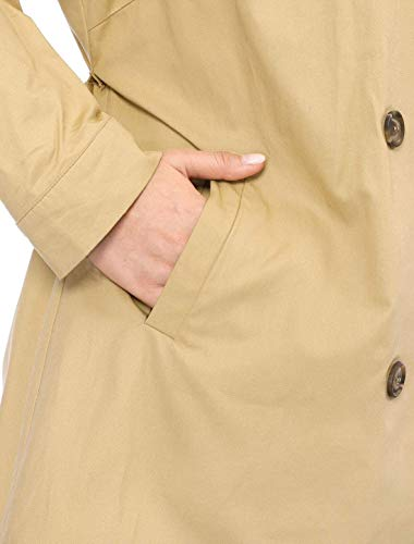 Di Outwear Bobo Khaki Trench Cappotti Especial Elegante Double Antivento Alta Donna Bavero 88 Breasted Estilo Confortevole Lunga Monocromo Giacca Manica Qualità Invernali Vento SqrwT1xS