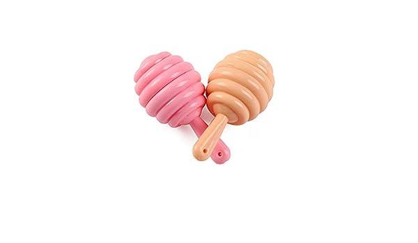 Bálsamo para labios con miel fresa, estilo chupete ...