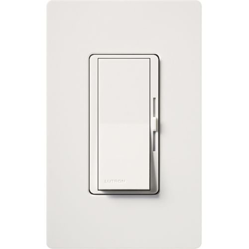Lutron Diva Dimmable CFL/LED Dimmer with Wallplate